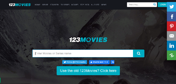 123movies home screen